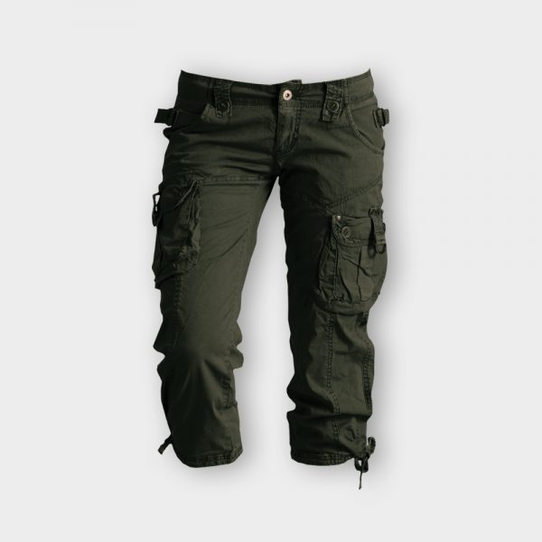 Green color pant